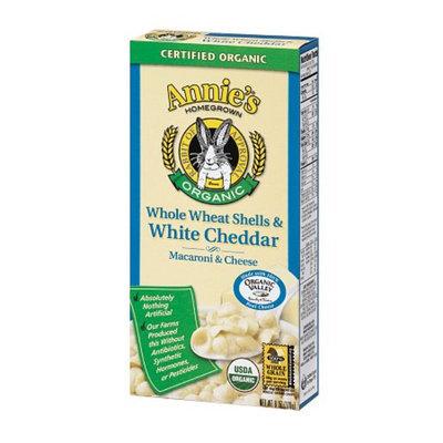 Annie's Homegrown Whole Wheat Shells & White Cheddar