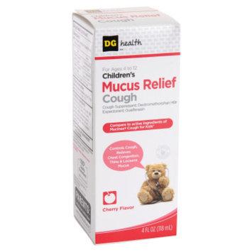 DG Health Children's Mucus Relief Cough Suppressant - Cherry