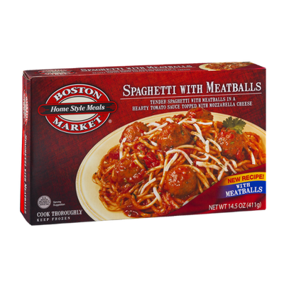 Boston Market Spaghetti With Meatballs