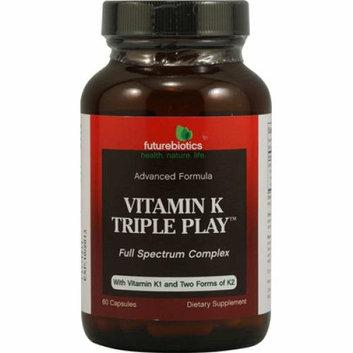 FutureBiotics Vitamin K Triple Play 60 Capsules