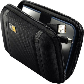 Case Logic Black Compact Portable Hard Drive Case