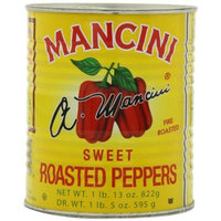 Mancini Sweet Red Roasted Peppers, 29-Ounce (Pack of 4)