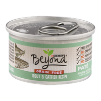 Purina Beyond Natural Cat Food Trout & Catfish Recipe Pate