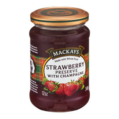 Mackays Strawberry Preserve With Champagne