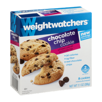 Weight Watchers Chocolate Chip Cookie - 8 CT