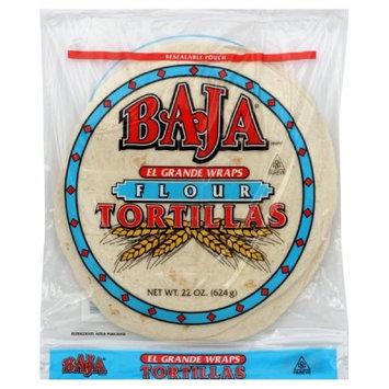 Baja El Grande Tortilla, 22-Ounce (Pack of 6)