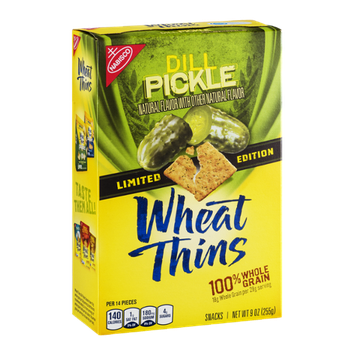 Nabisco Wheat Thins Snacks Dill Pickle