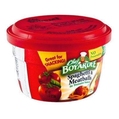 Chef Boyardee Spaghetti & Meatballs Bowl