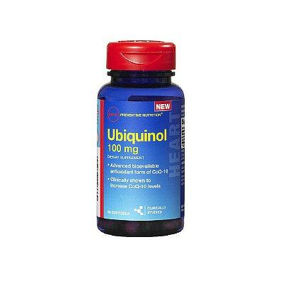 GNC Preventive Nutrition Ubiquinol 100 mg