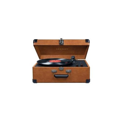 Crosley CR6249A-TA Crosley Deluxe Portable Keepsake USB Turntable - Tan