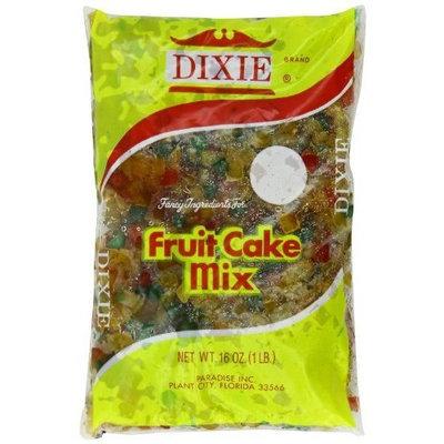 Paradise Dixie Fruit Cake Mix Bag, 16 Ounce