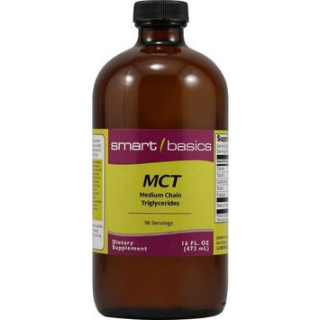 Smart Basics Vitacost MCT Oil from Coconut Oil (Medium Chain Triglycerides) -- 16 fl oz