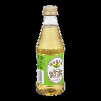 Rose's West India Sweetened Lime Juice