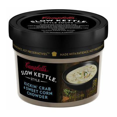 Campbell's Slow Kettle Style Kickin' Crab & Sweet Corn Chowder Soup