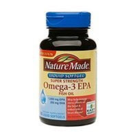 Nature Made Liquid Softgel Super Strength Omega 3-EPA , 60 Softgels