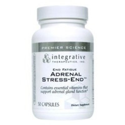 Integrative Therapeutic's Integrative Therapeutics End Fatigue Adrenal Stress-End, 50 Capsules