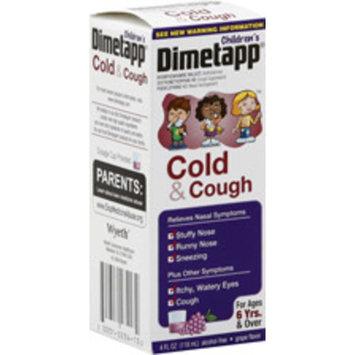 Children's Dimetapp Cold & Cough Liquid Grape Flavor