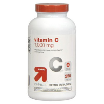 up & up up&up Vitamin C 1000 mg with Rose Hips Tablets - 250 Count