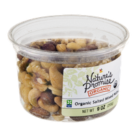 Nature's Promise Organic Mixed Nuts Salted Organic
