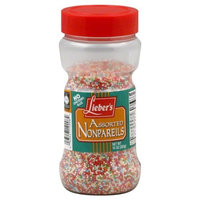 Liebers Sprinkles, Non-Pareil, 10-Ounce (Pack of 4)