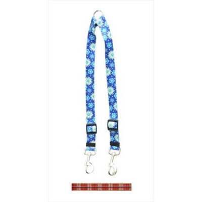 Yellow Dog Design TR108 Tartan Red Coupler Lead - Small