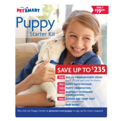PetSmartA 2014 Puppy Starter Kit
