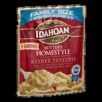 Idahoan Mashed Potatoes Buttery Homestyle Family Size