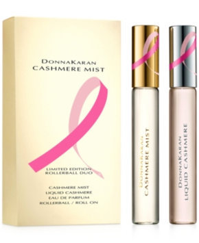 Donna Karan Cashmere Mist Breast Cancer Awareness Eau de Parfum Rollerball Duo