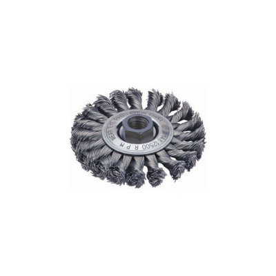 FirePower Firepower 1423-2111 Stringer Bead Wire Wheel Brush 4-inch Diameter