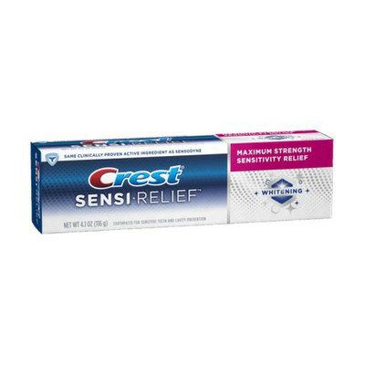 Crest Sensi-Relief Whitening Clean Mint Flavor Toothpaste