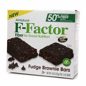 F-Factor Fudge Brownie Bars