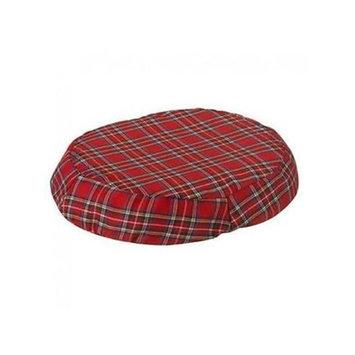 Jobri BH1018PL 18 in. Better Health Ring Cushion Cover Plaid
