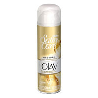 Gillette Satin Care Shaving Gel for Women with a Touch of Olay