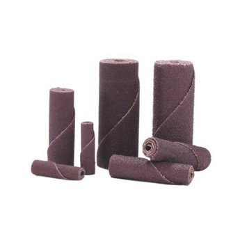Merit Abrasives Cartridge Rolls - 3/8x1-1/2x1/8 100 grit cartridge roll-alo re