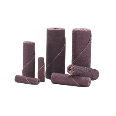Merit Abrasives Cartridge Rolls - 3/8x1-1/2x1/8 100 grit cartridge roll-alo re