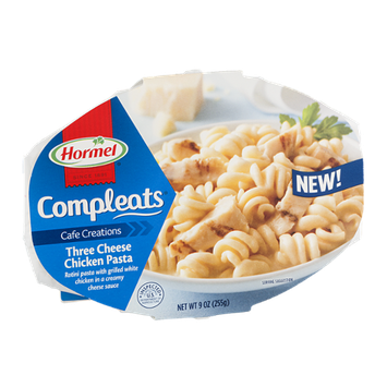 Hormel Compleats Cafe Creations Three Cheese Chicken Pasta