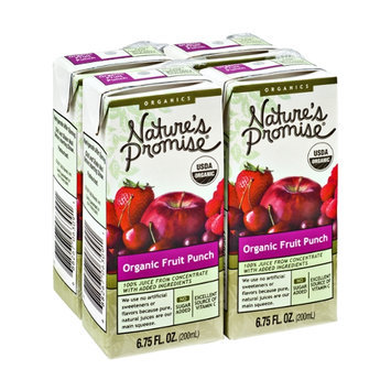 Nature's Promise Organic Fruit Punch - 4 CT