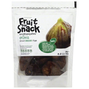 Sdoukos Fruit for Snack Dried Greek Figs, 7.05 oz, (Pack of 12)