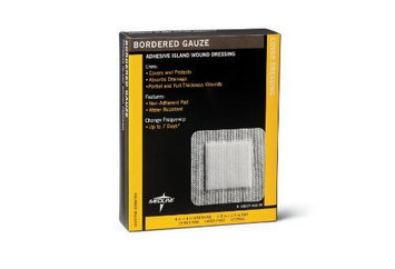 Medline MSC3248Z Medline Bordered Gauze - 4 x 8 Inches - Box Of 15