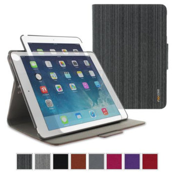 roocase Orb System Folio 360 Dual View Leather Case Smart Cover for Apple iPad Air (5th Generation)