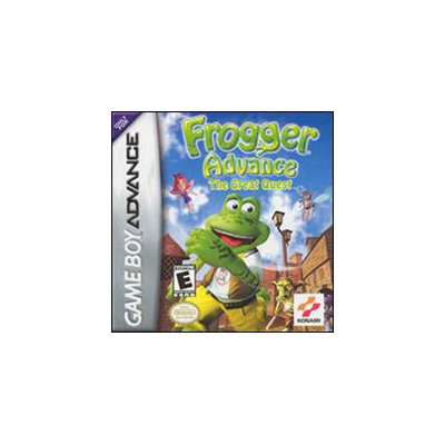 Konami Frogger Advance: The Great Quest