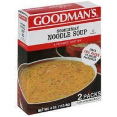 Goodmans Soup Mix Noodleman 2Pk 4 OZ (Pack Of 12)