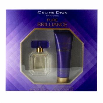 Celine Dion Parfums Pure Brilliance 2 Piece Gift Set, 1 set
