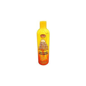 African Pride Shea Butter Miracle Silky Hair Moisturizer 12oz []