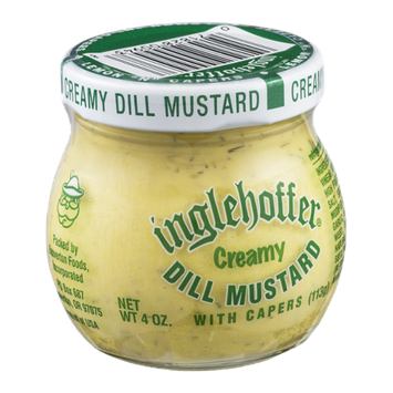 Inglehoffer Creamy Dill Mustard with Capers