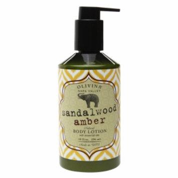 Olivina Body Lotion, Sandalwood Amber, 10 fl oz