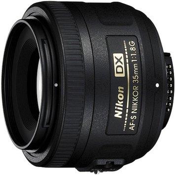 Nikon AF-S DX Nikkor 35mm f/1.8G Prime Lens - Black