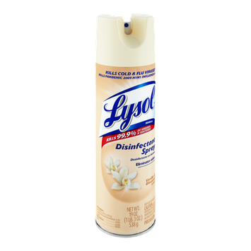 Lysol Vanilla & Blossoms Scent Disinfectant Spray