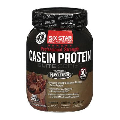 Six Star Pro Nutrition Casein Protein Triple Chocolate 1.5 lb