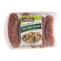 Johnsonville 50% Less Fat Sausage - Mild Italian